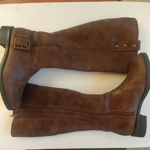 AEROSOLES Easy Rider Riding Style Tall Boots